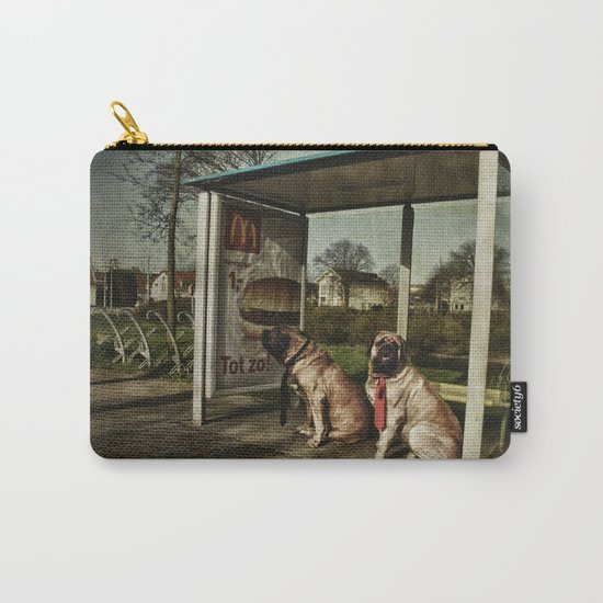 Human behaviour Carry-All Pouch