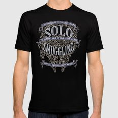 Solo Smuggling Black Mens Fitted Tee MEDIUM