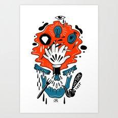 Loast Time Art Print