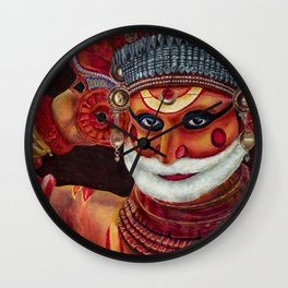 Incarnations of God- Theyyam Wall Clock