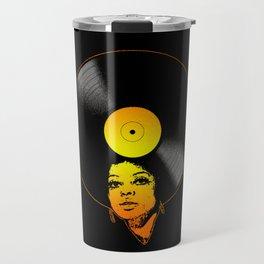 Afrovinyl (Soul) Travel Mug