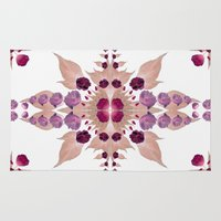 kaleidoscope Area & Throw Rugs featuring Kaleidoscope by Karolis Butenas