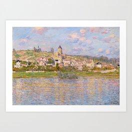 1879-Claude Monet-Vetheuil-60x81 Art Print