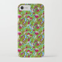 hiking iPhone & iPod Cases featuring Hiking Tune by Bob Greenwade