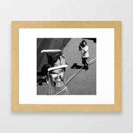 Severe Burn Framed Art Print