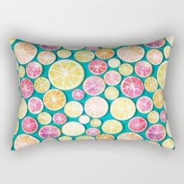 Citrus bath Rectangular Pillow