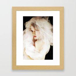 The Fading Ingenue Framed Art Print