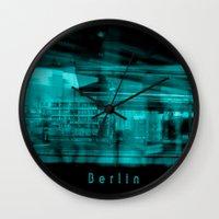 berlin Wall Clocks featuring Berlin by Laake-Photos