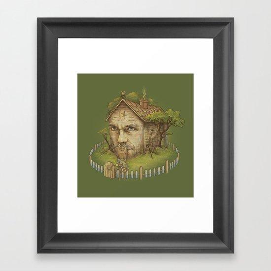Dr. House Framed Art Print