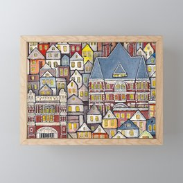 Clifton Heights Framed Mini Art Print