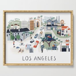 Los Angeles Serving Tray