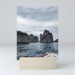 Capri Boat Ride Mini Art Print