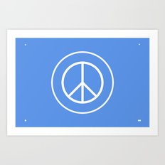 WORLD PEACE Art Print