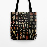 shells Tote Bags featuring Shells by Good Sense