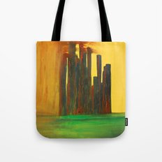 This City, too, will be Taken Tote Bag