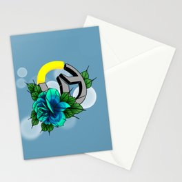Over Watch Love Blue Stationery Cards