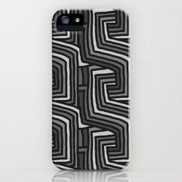grey linea iPhone Case
