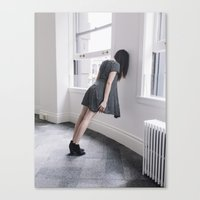 breathe Canvas Prints featuring BREATHE by TIVN