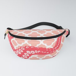 Pink Tentacles Fanny Pack
