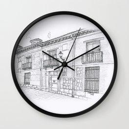 Alcalá Street Wall Clock