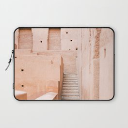 Colors of Marrakech Morocco - El badi palace photo print | Pastel travel photography art Laptop Sleeve