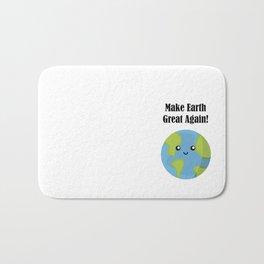 Make Earth Great Again! Bath Mat