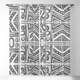 Handmade Print Pattern Sheer Curtain