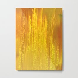 Yellow Falls Three Metal Print