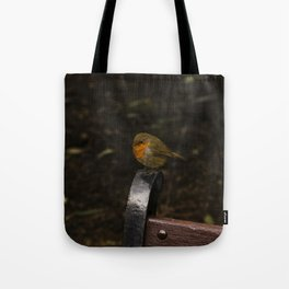 Resting Robin Tote Bag
