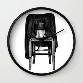 rustic chair Wall Clock