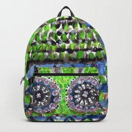 High Garden Pattern with Fence Backpack