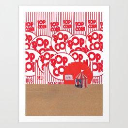 Not My Circus Art Print