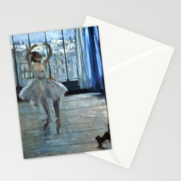 Edgar Degas - Dancer In Front Of A Window Stationery Cards