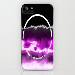 Reflections in Purple iPhone Case
