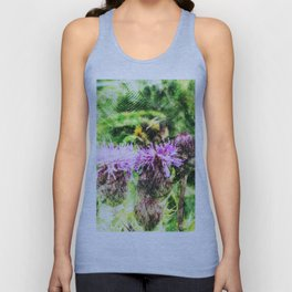 Bee In Clover Unisex Tank Top