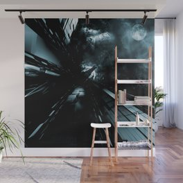 Daydreams Like Mainframes 006: Eclipse Wall Mural