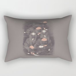 Neighborhood Watch (At Dawn) Rectangular Pillow