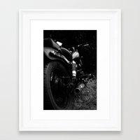 motorbike Framed Art Prints featuring Motorbike  by Noah Fiorilli Nemeroff