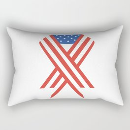 USA Patriot Day - September 11 - Day to pray and hope Rectangular Pillow