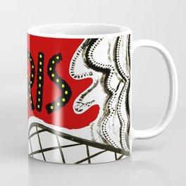 Vintage Paris France Travel Coffee Mug