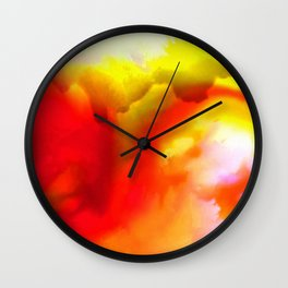 Abstract Bliss 1G by kathy Morton Stanion Wall Clock