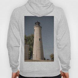 Kenosha Southport Light Station Light Tower Lighthouse Lake Michigan Hoody