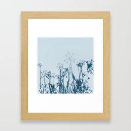 Blooming Sky Framed Art Print