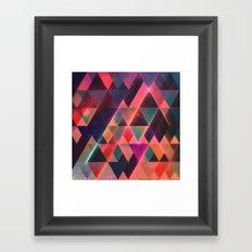 glww mwntn Framed Art Print