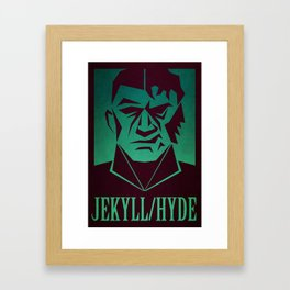 Jekyll & Hyde Framed Art Print