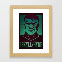Jekyll & Hyde Framed Art Print