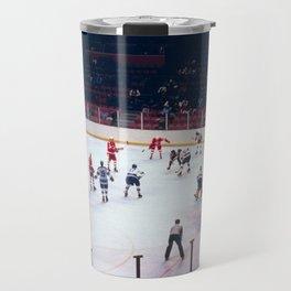 Vintage Hockey Match Travel Mug