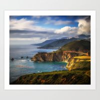 big sur Art Prints featuring Big Sur by Photo list