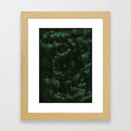 Wild green Framed Art Print