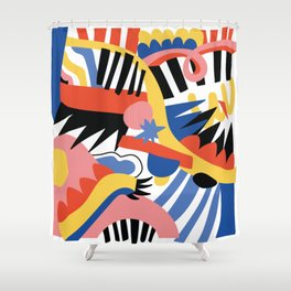 Hysterical Shower Curtain